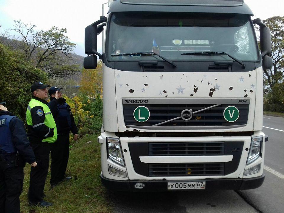За рулем транспортного находился гражданин Беларуси