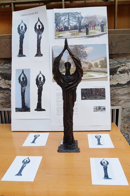 Будущий памятник жертвам Голодомора в Ужгороде