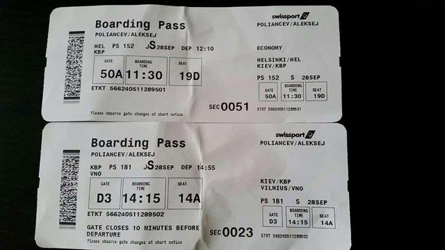 """На украинских авиалиниях """"чистят"""" багаж пассажиров"""
