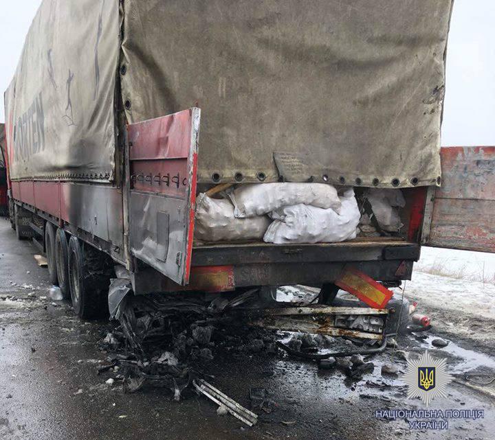 Жуткое ДТП под Харьковом: в автомобиле сгорело заживо четыре человека