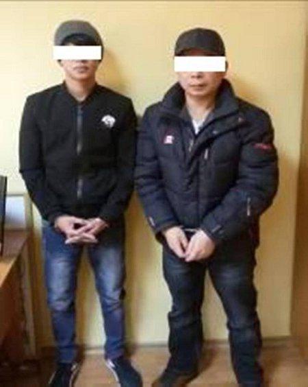 Пограничники Чопского отряда задержали мигрантов