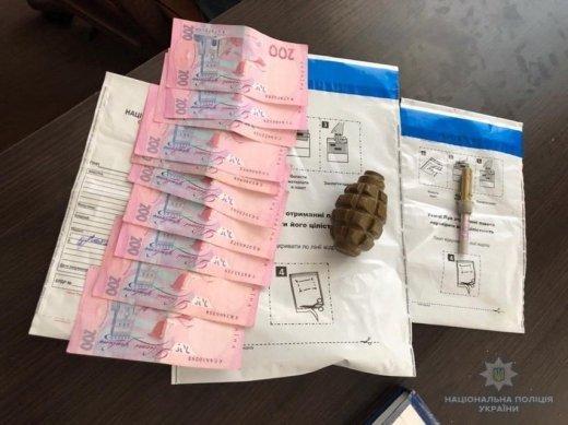 В Хусте вблизи кафе закарпатец продавал гранату «Ф-1»
