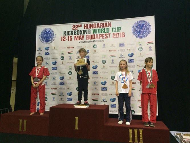 Ужгородцы взяли Кубок Мира на Hungarian Kickboxing World Cup