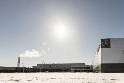 Mercedes-Benz построил в чистом российском поле завод «Московия»