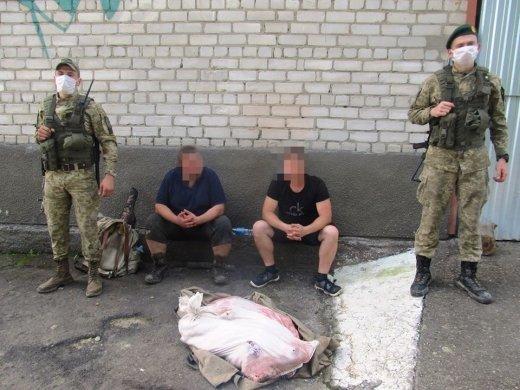 На Закарпатье трупы невинных существ держали в мешке двое гадов