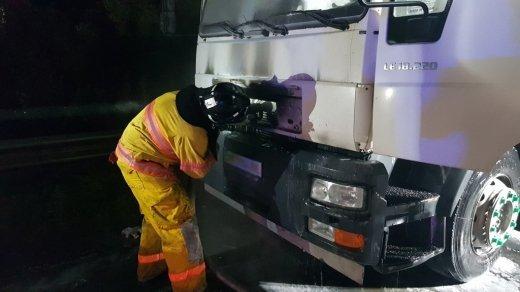 Хаос на трассе в Закарпатье: На помощь бросались как и проезжающие водители, так и спасатели