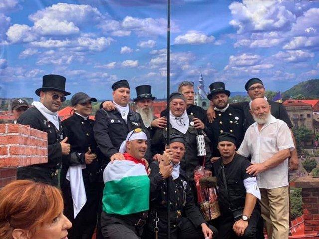 В Закарпатье проходит Парад трубочистов