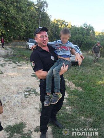 Полицейские вернули ребенка родителям!