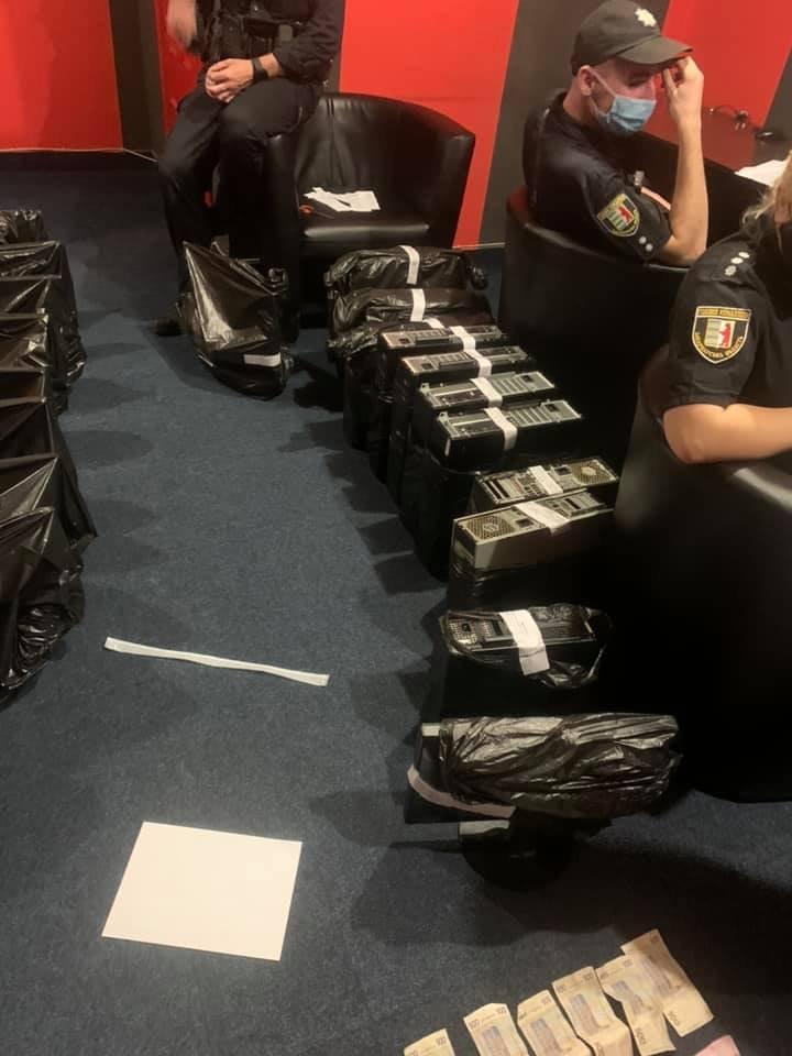 Спецоперация в Ужгороде: Полиция подчистила остатки нелегального бизнеса для зависимых