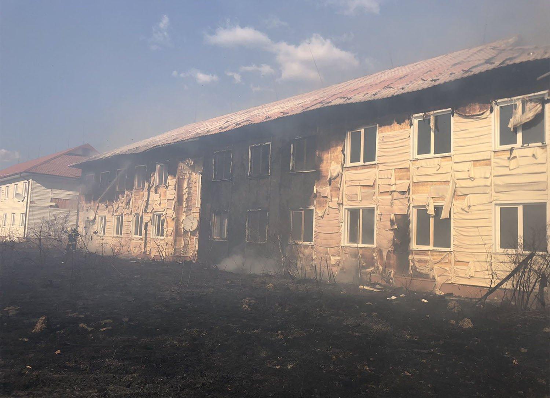 """В Закарпатье """"добрые люди"""" превратили в пепелище комплекс за 120 миллионов гривен (ФОТО)"""