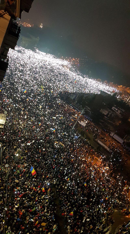 В Румынии продолжаются массовые протесты