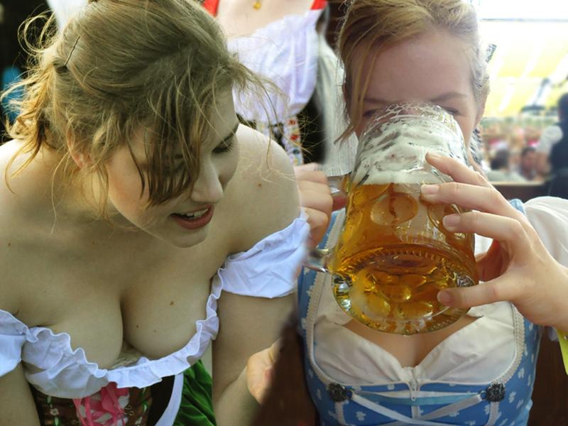 Beer maid porn gif