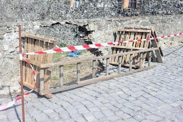В Ужгородском замке разваливается 200-летний мост