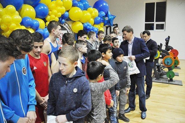 Тржественное открытие федерации бокса Ужгородского района
