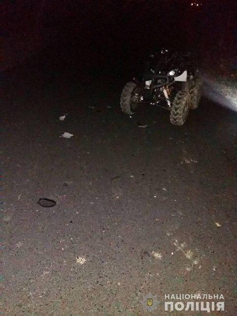 В Закарпатье разбился насмерть водитель квадроцикла