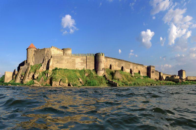 Величний вид Аккерманської фортеці