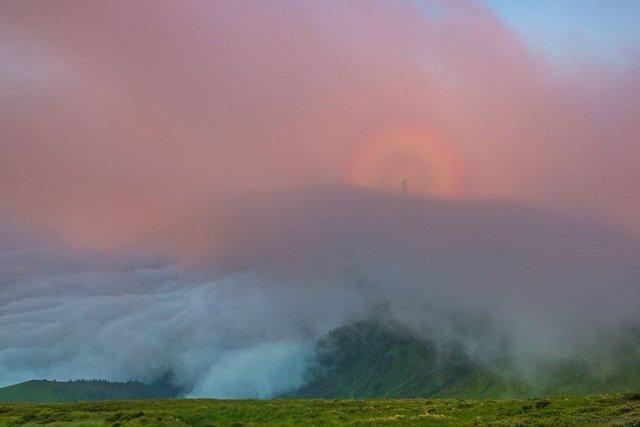Тайны Карпат: Брокенский призрак на горе Поп Иван