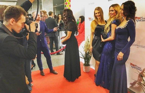 Ирина Галай на церемонии вручения премии «Vivа. Самые красивые 2017»
