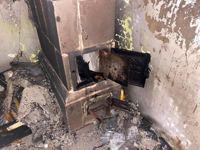 В Ужгороде из-за детей пылал частный дом