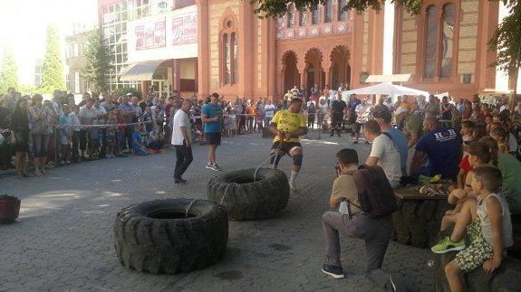 В центре Ужгорода соревновались сильнейшие