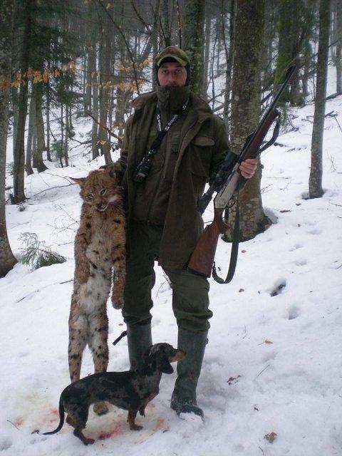 В Закарпатье лесник похвастался убитыми краснокнижными рысью и тетеруком