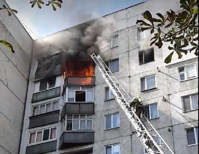 В Ужгороде в многоэтажке заживо сгорела женщина