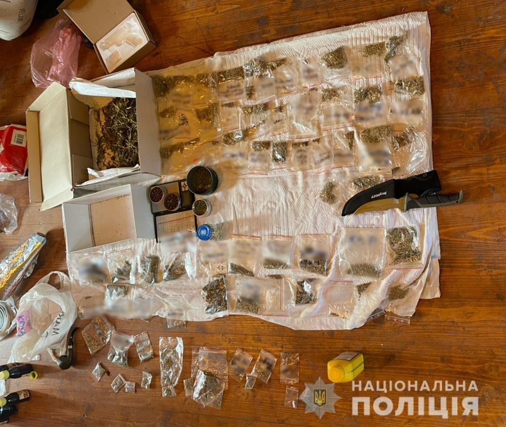 На территории Закарпатья спецназ пресёк крупную группу наркоторгоцев