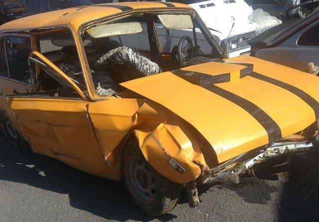Полиция разыскивает водителя совершившего ДТП в Лумшорах