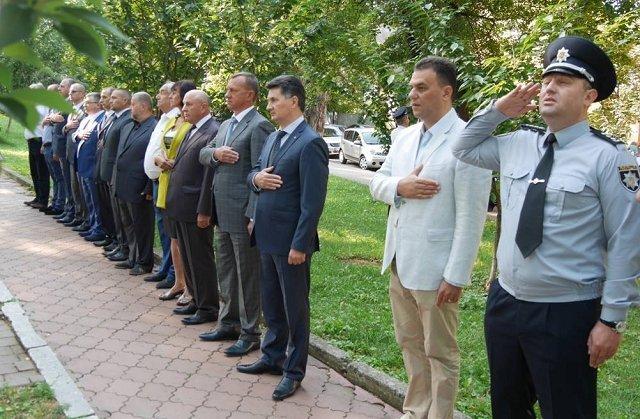 В Ужгороде отметили День памяти погибших работников органов внутренних дел
