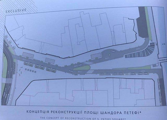 Проект реконструкции Петефи