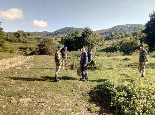 Закарпатские пограничники задержали россиянина-нелегала