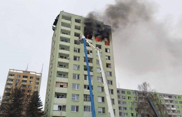Смертельный взрыв газа в словацком Прешове