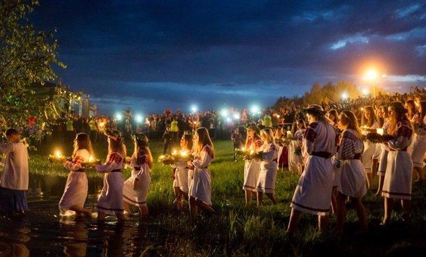 Сегодня вся Украина празднует Ивана Купала