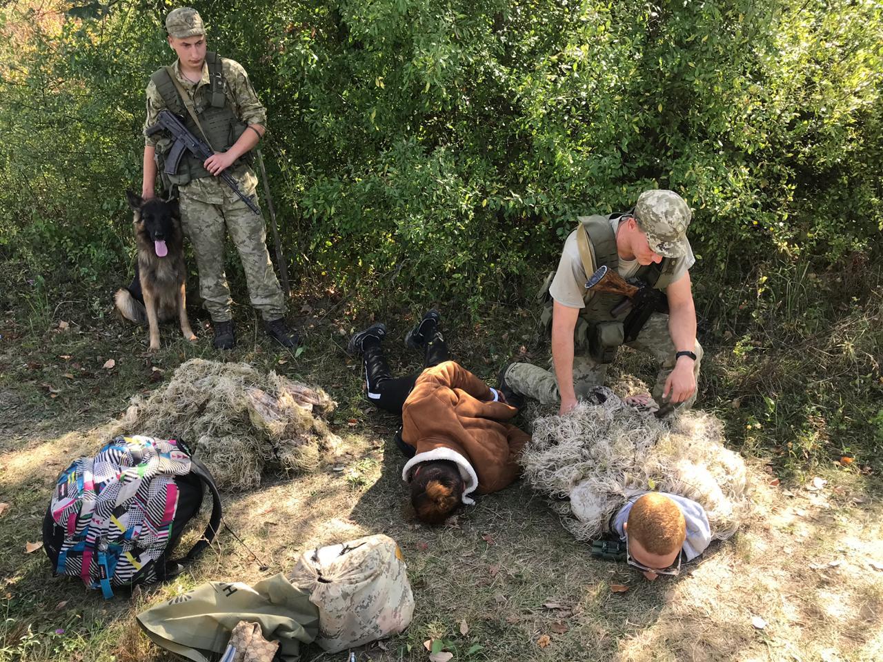 В Закарпатье наивные иностранцы сами же вывели пограничников на себя