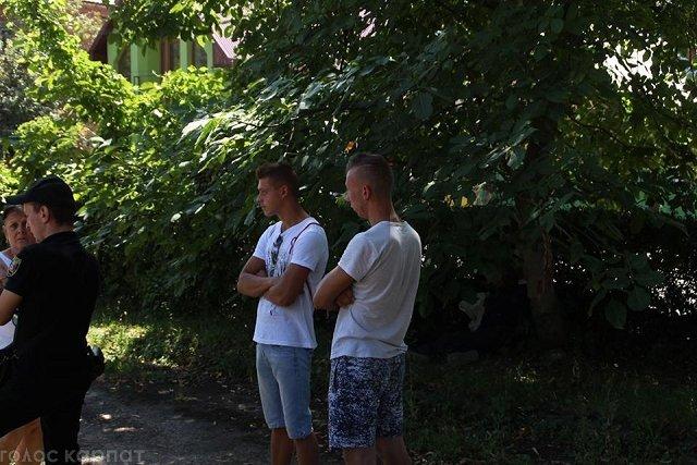 В центре Виноградова на Закарпатье нашли повешенного мужчину