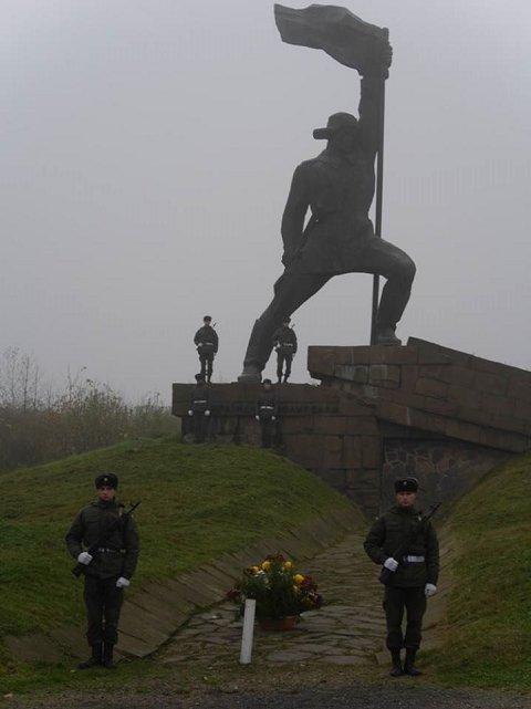 Празднование 73-й годовщины освобождения Ужгорода и Закарпатье