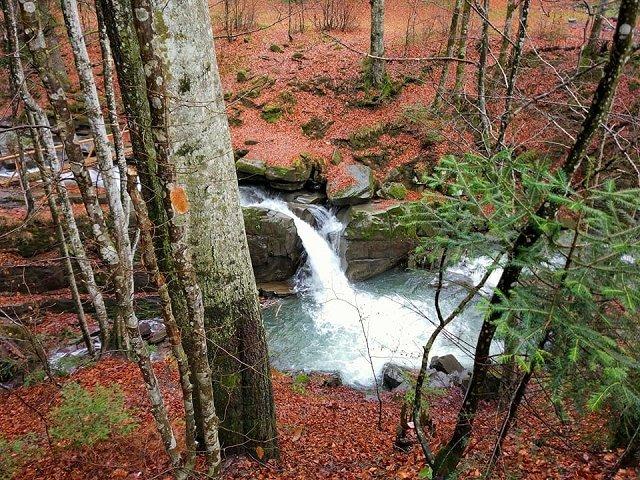 Водопад Давир (Партизан) на Закарпатье