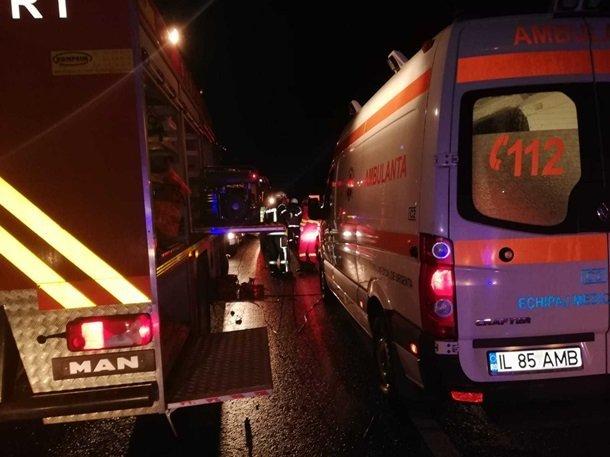На юго-востоке Румынии произошло кошмарное ДТП
