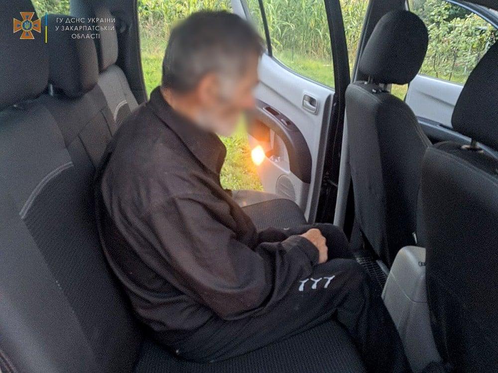 В Закарпатье удалось разыскать человека, исчезнувшего еще 11 сентября