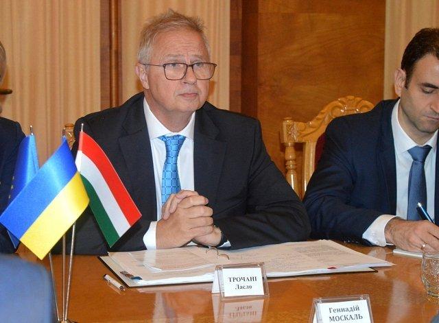 В Ужгороде прошла встреча руководителе Закарпатья с Ласло Трочани