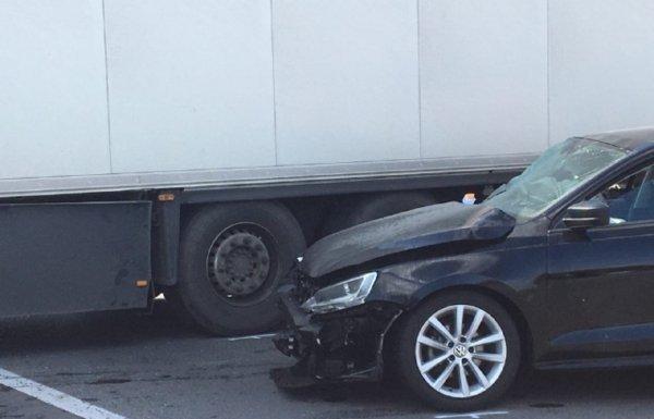 "В ДТП на трассе ""Киев-Чоп"" под Мукачево попали три авто"