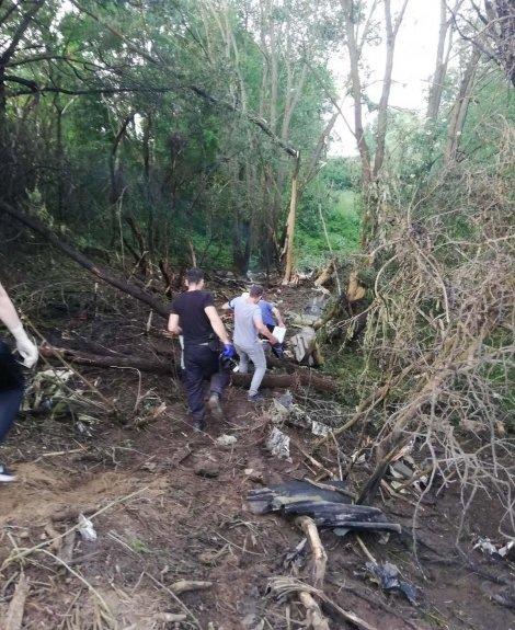 На территории Чехии разбился истребитель: Один человек погиб, один на грани жизни и смерти