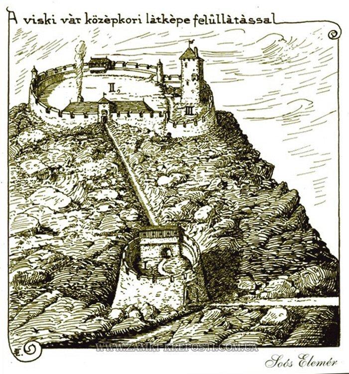 У соцмережах розповіли про Вишківський замок на Закарпатті