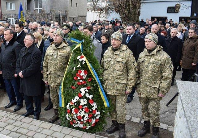 В Ужгороде состоялись торжества ко Дню памяти воинов-интернационалистов