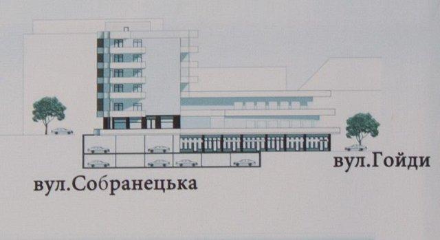 Застройка исторической части Ужгорода
