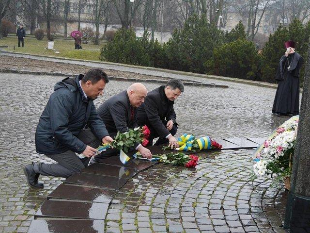 В Ужгороде почтили память Тараса Шевченко