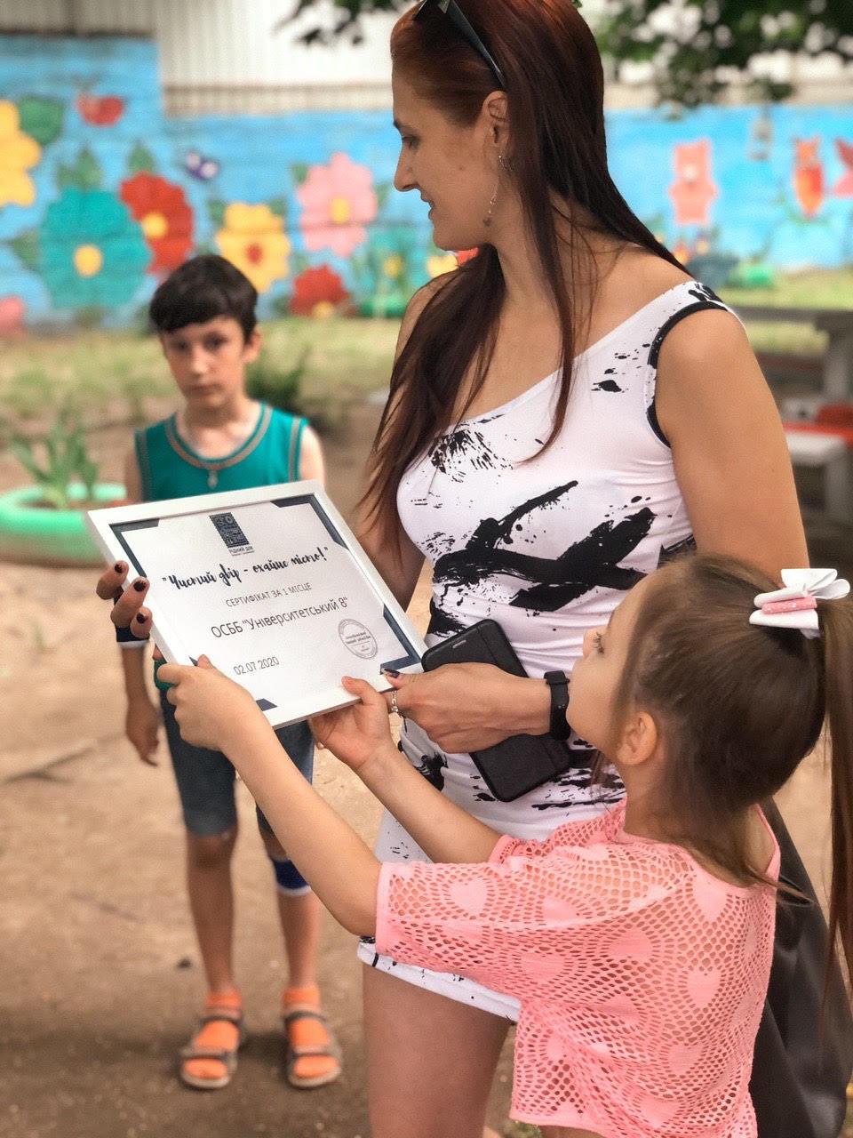 Ужгород. «Чистий двір – охайне місто!» - ініціатива, яка вчить діяти і отримувати результат