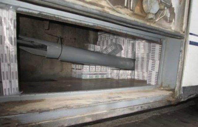 """В международном автобусе """"Берегово-Ньиредьхаза"""" обнаружили крупную партию контрабанды"""