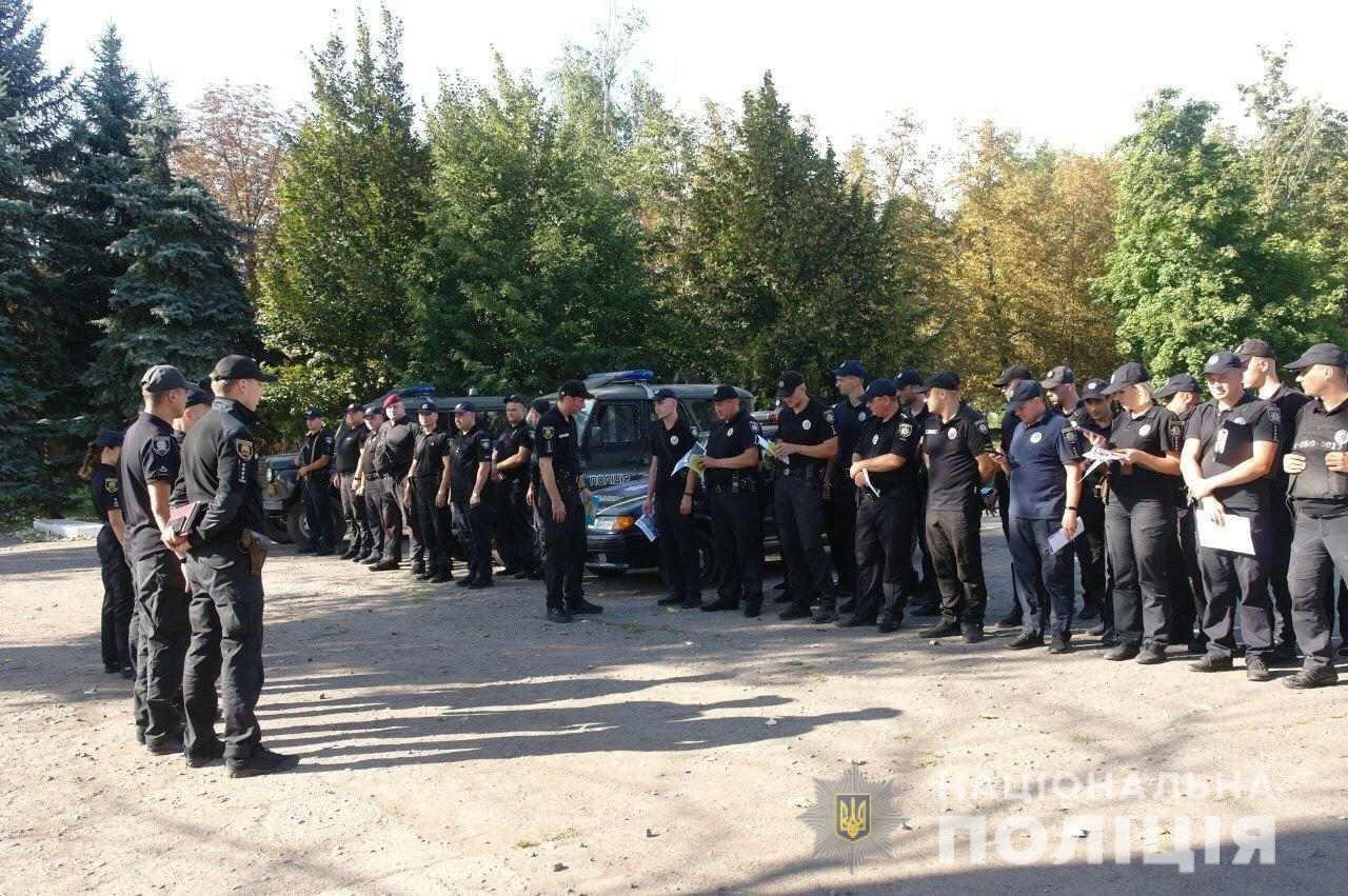 Група полісменів Закарпаття відзначена керівниками донецької Нацполіції за роботу в зоні Операції об'єднаних сил