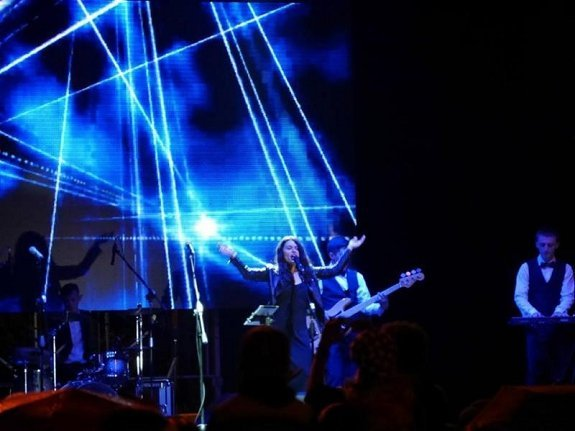 Праздничный концерт в Ужгороде собрал много народа